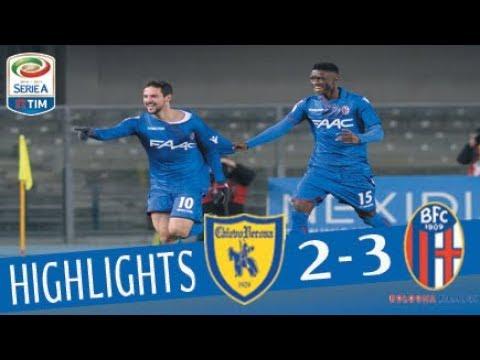 Chievo - Bologna 2-3 - Highlights - Giornata 18 - Serie A TIM 2017/18