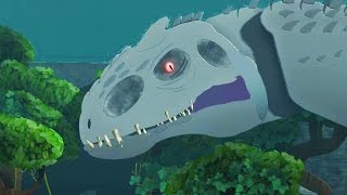 LittleBigPlanet 3 - Jurassic World Park Tour - Super Giant Indominus Rex T Rex And Mosasaurus