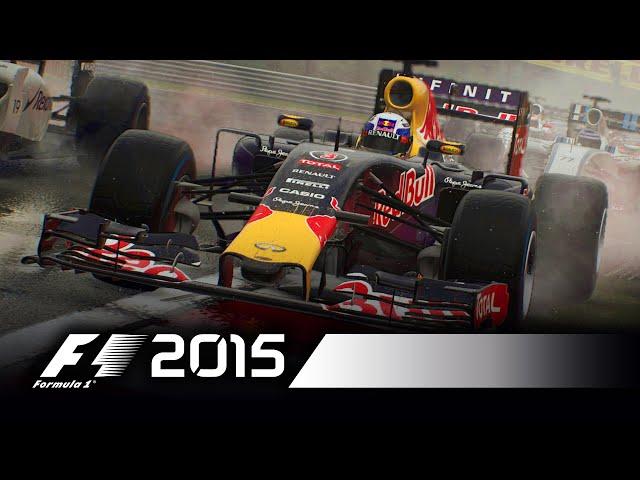 Видео к игре F1 2015