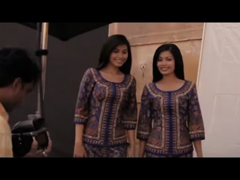 Filming of the Across the World Campaign | Singapore Airlines