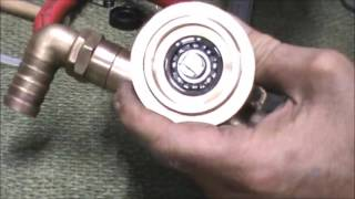 Raw water pump service