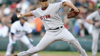 Red Sox 6 @ Astros 1, F -- Daisuke Matsuzaka allows two hits and no runs in five innings against the Houston Astros