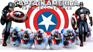 Kinder (LA) United States  city pictures gallery : Huevos Kinder Capitan America. Captain America Surprise Eggs