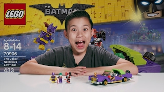 THE JOKER NOTORIOUS LOWRIDER - The LEGO Batman Movie Set 70906 Time-lapse, Unboxing & Review