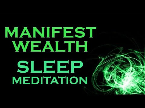 Manifest WEALTH While You SLEEP