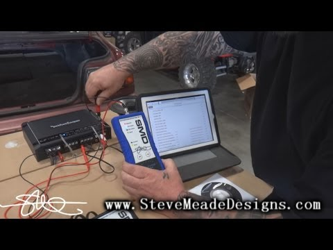 HOW TO: Apple ipad or iphone to Car Stereo Amps – Using SMD Distortion Detector DD-1
