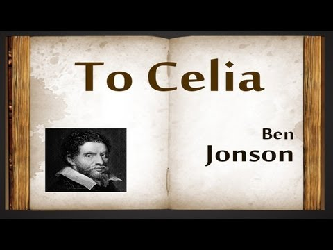 come my celia ben jonson