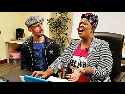 Black Music - Vocal coach & Student (EN ES SUBS)