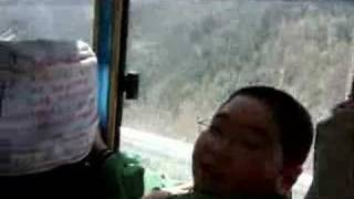Wutaishan China  city photos : Crazy bus ride to Wutaishan, China