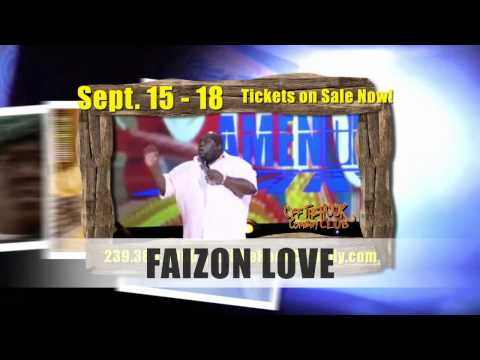 Faizon Love @ Off the Hook Comedy Club SEPT 15 - 18