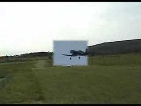 RC Giant Corsair maiden flight