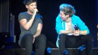 One Direction Louis Random Funny&Adorable Moments TMH Tour 2013