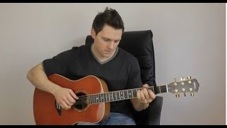 I Don't Want to Miss a Thing - Aerosmith - Acoustic Fingerstyle Interpretation Video