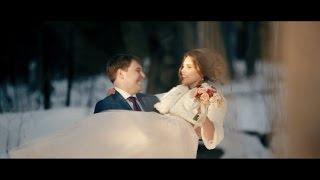Зимняя сказка Светланы и Николая. Wedding day (14.02.2017)