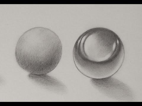 Cómo dibujar texturas - Cómo dibujar esferas