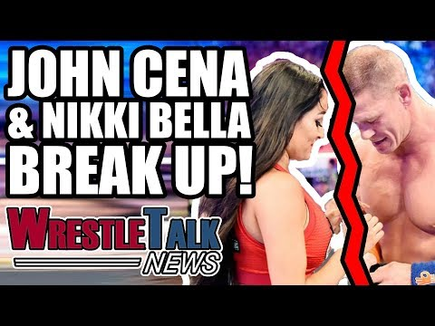 John Cena & Nikki Bella BREAK UP! Rusev WWE Status REVEALED! | WrestleTalk News Apr. 2018