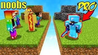 Video 8 NOOBS VS 1 PROFESSIONAL! (Minecraft BED WARS) MP3, 3GP, MP4, WEBM, AVI, FLV Januari 2018