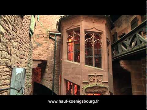 Clip de présentation du château du Haut-Koenigsbourg