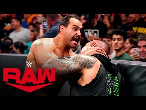 Rusev snaps and demolishes King Corbin and Randy Orton: Raw, Oct. 7, 2019