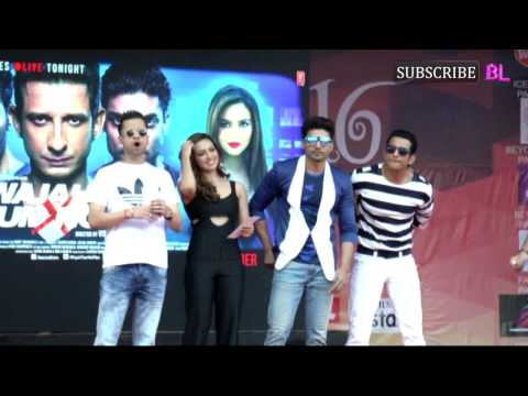 Wajah Tum Ho Team At Mithibai College | Sana Khan
