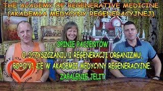 Opinie Pacjentów o Oczyszczaniu, Zapalenie Jelita Grubego, Choroba Crohna, Borowinie, Regeneracji Organizmu w Akademii Medycyny Regeneracyjne.