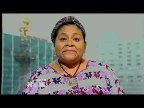 nobel laureate - http://www.democracynow.org - Days after Guatemala's former U.S.-backed dictator, Efran Ros Montt, was convicted of genocide, we're joined by a woman large...
