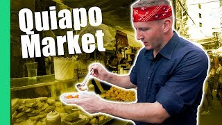 Video Filipino Street Food Tour in Quiapo Market, Manila (Turon, Kwek Kwek, Fried isaw) MP3, 3GP, MP4, WEBM, AVI, FLV Agustus 2019