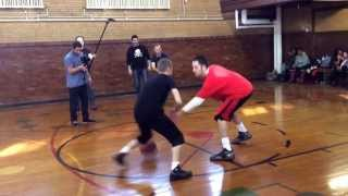 "The Professor destroys ""Slick Smooth"" in 1 on 1 2014"