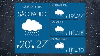 Confira a previsão do tempo completa da Somar Meteorologia para os próximos dias na sua região. Produção Somar Vídeo.