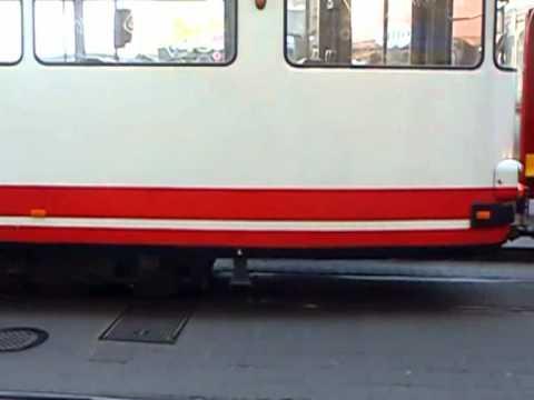 Grudziądz: wykolejenie tramwaju Duwag Gt8