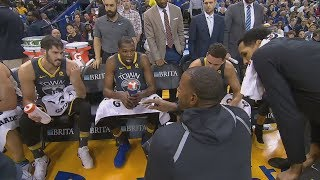 Steve Kerr Lets Players Coach! Warriors Win By 46 vs Suns! 2017-18 Season