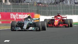 2018 British Grand Prix: Race Highlights