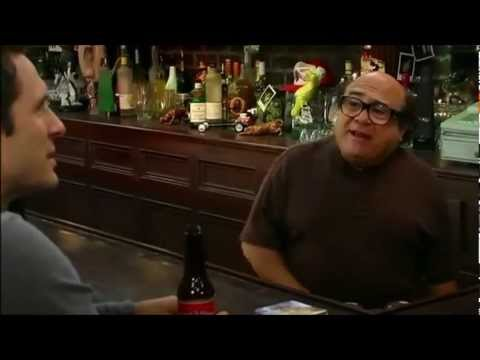 "Frank Reynolds/Danny Devito saying ""trash"""