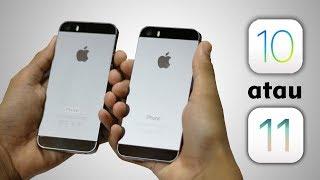 Video iPhone 5s iOS 10 vs iOS 11, Bagus mana? MP3, 3GP, MP4, WEBM, AVI, FLV November 2017