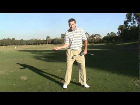 Golf Swing Transition-Bump, Dump and Turn