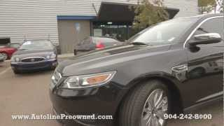 Autoline's 2010 Ford Taurus Limited  Walk Around Review Test Drive