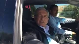 AMLO es ovacionado al llegar a Matamoros