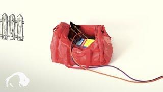 Складная дорожная сумка объемом 45 литров Tatonka Travel Duffle M
