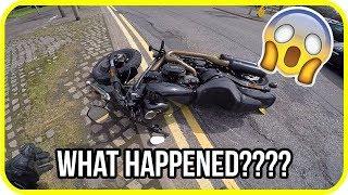 Video Youtuber hits pothole and crashes brand new Harley-Davidson motorcycle MP3, 3GP, MP4, WEBM, AVI, FLV September 2018