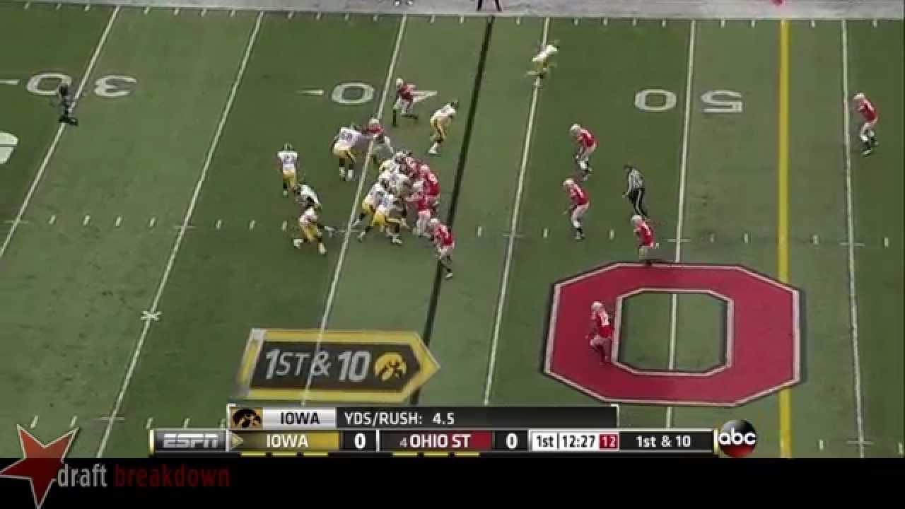 Brandon Scherff vs Ohio State (2013)