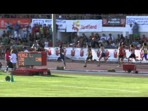 Cto. España Absoluto. 100 metros Semifinal 2