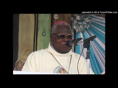 Homélie Mgr Bénédiction des huiles Saintes sur la cathédrale Notre Dame de Cotonou (fon)