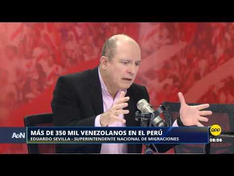 La cifra de venezolanos en el Perú supera los 353 mil, según Migraciones