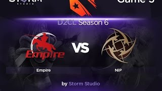 NIP vs Empire, game 2