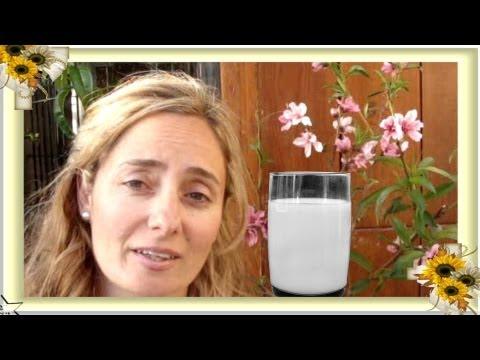 Cómo hacer leche de alpiste para adelgazar, bajar el colesterol, diabetes (milk) by PILAR NATURE.