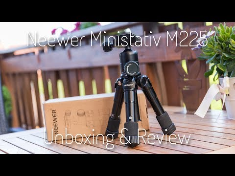 Neewer Ministativ M225 + CK30 Review