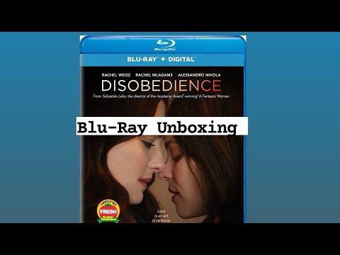 Disobedience Blu-Ray Unboxing!! #disobedience #universal #bluray #4kultrahd #rachelmcadams
