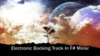 Electronic Dubstep Backing Track In F# Minor