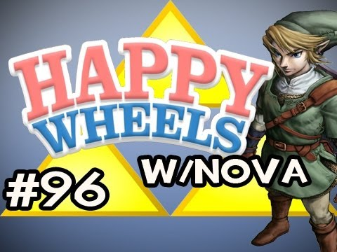 Happy Wheels w/Nova Ep.96 - Legend of Zelda: Ocarina Of Time HD Edition Pt.2 Video