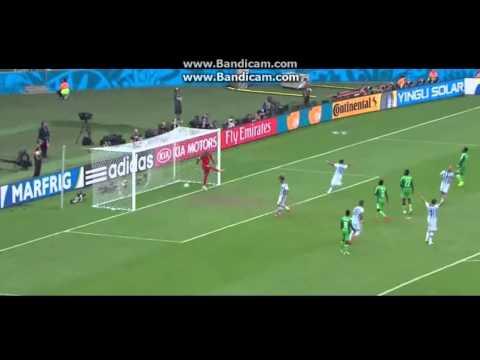 messi goal su punizione alla nigeria